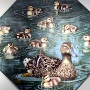 I Like Ducks, copyright Evelyn Grala. Photo credit Downers Grove Public Library.